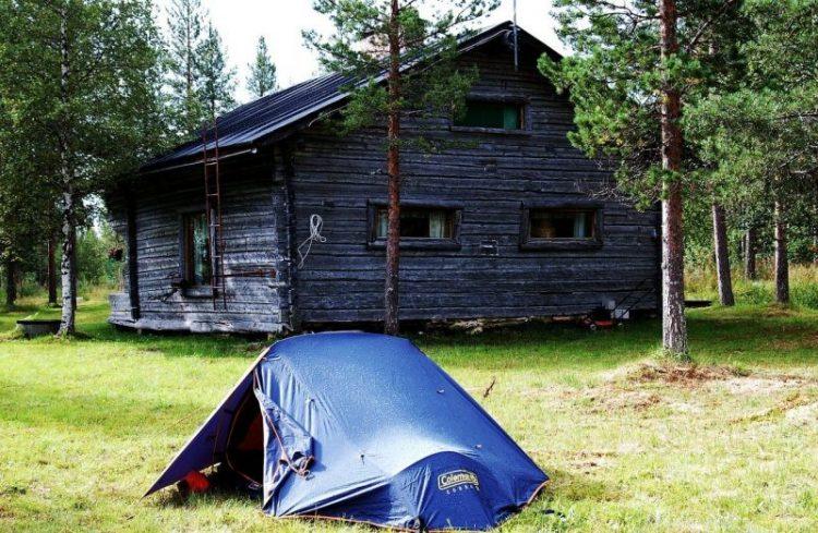 dormir sous la tente en finlande voyage en famille