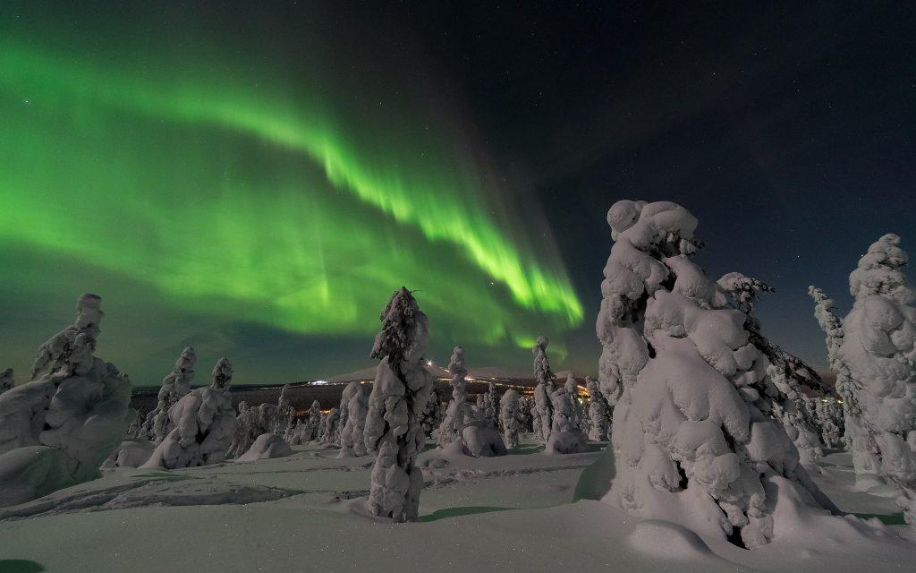 aurore boreales laponie finlande voyage en famille