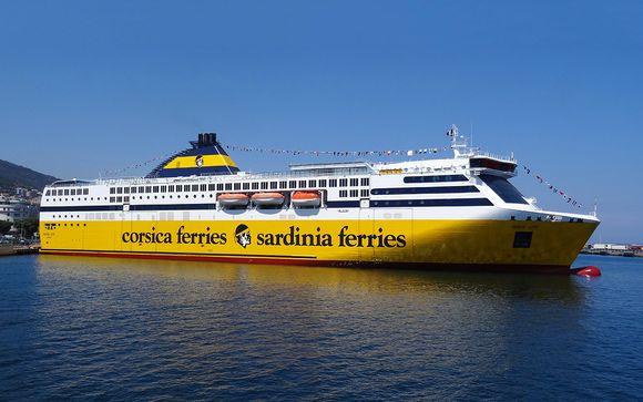 ferry pour venir en corse en famille