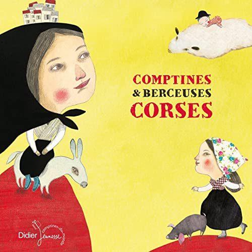 livre enfant Comptine et berceuses corses