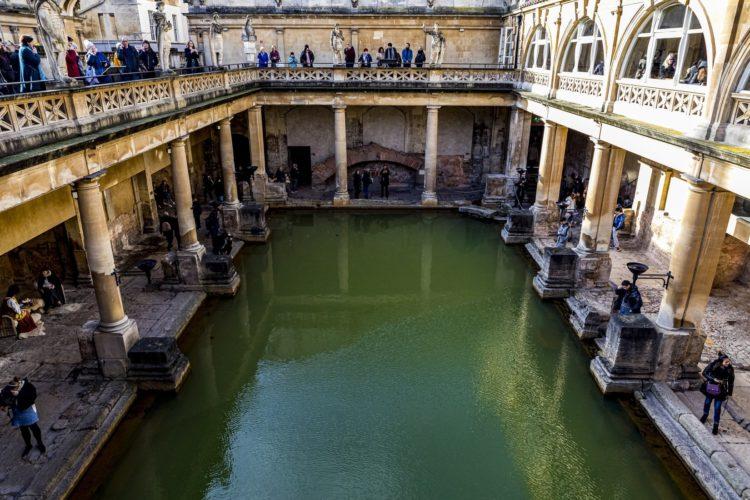 bath angleterre bassin voyage