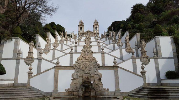 église bon jésus à braga au portugal