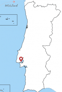Carte Portugal capitale voyage famille