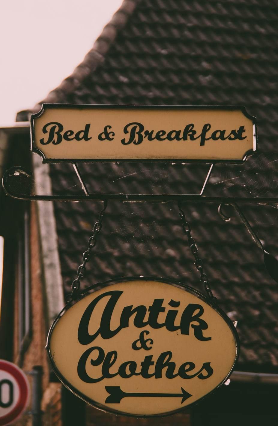 bed and breakfast en angleterre