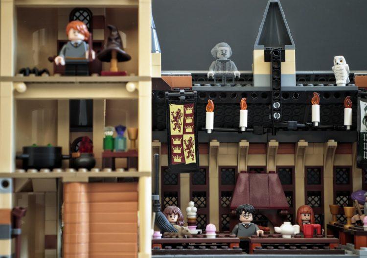 chateau harry potter lego