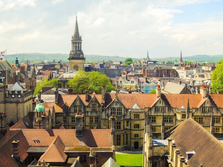 oxford angleterre village