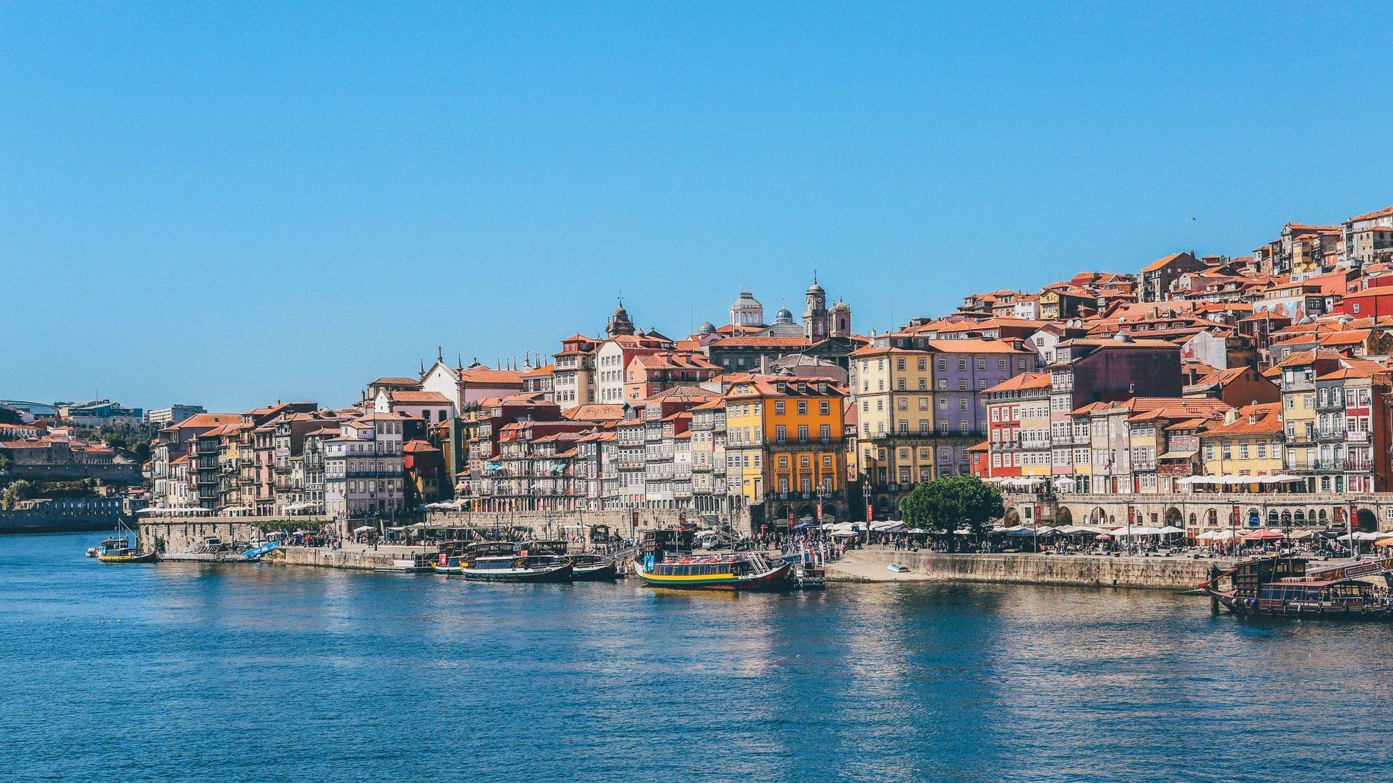 porto port bord de mer portugal