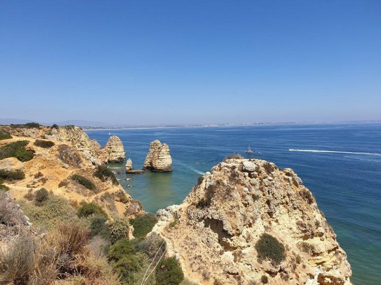 côte de l'algarve au portugal voyage
