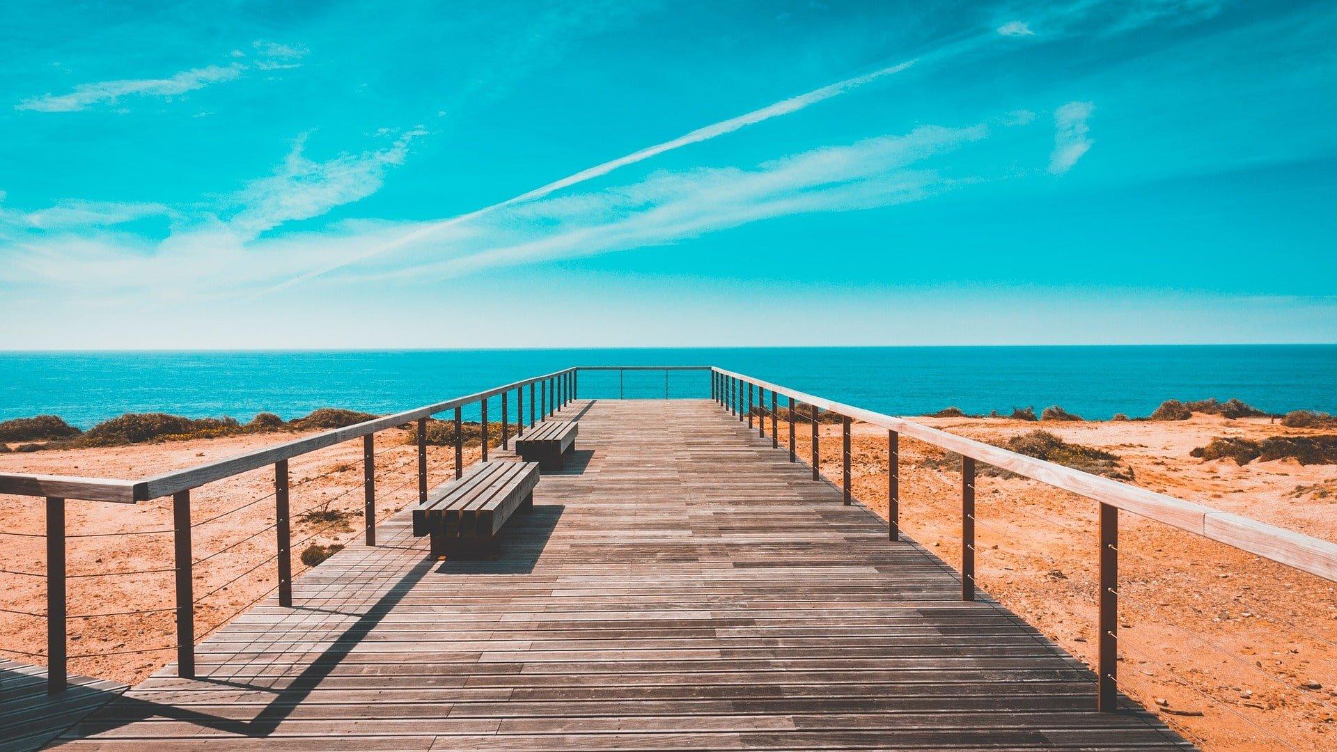 plage au portugal