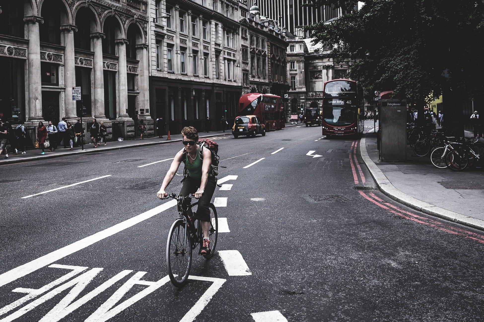 se déplacer en vélo à Londres en angleterre
