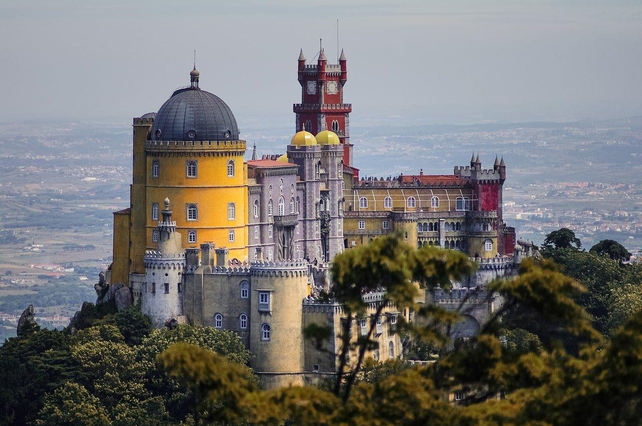 village de Sintra au portugal