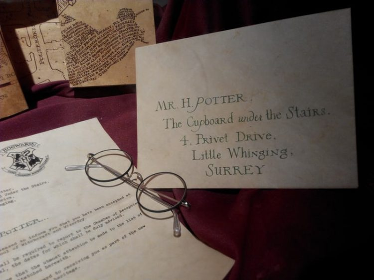 courrier harry potter