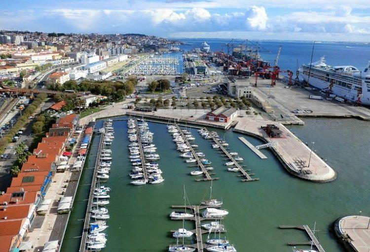 port de lisbonne au portugal