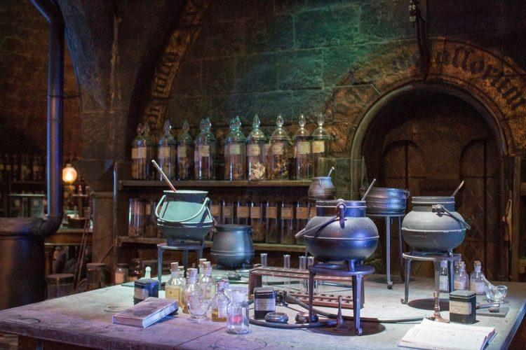 salle des potions harry potter boulangerie londres
