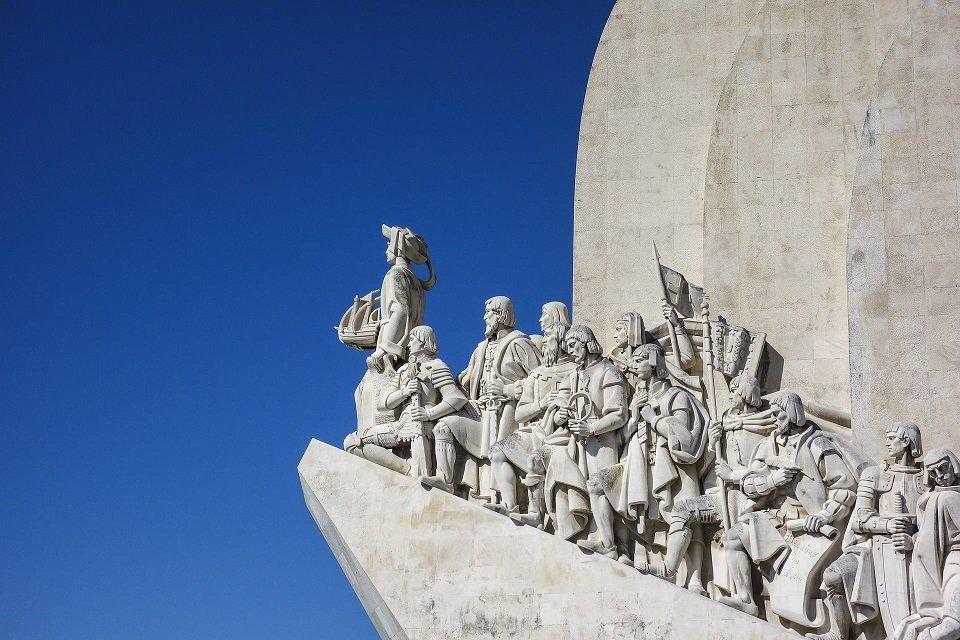 détail tour de belem au portugal lisbonne