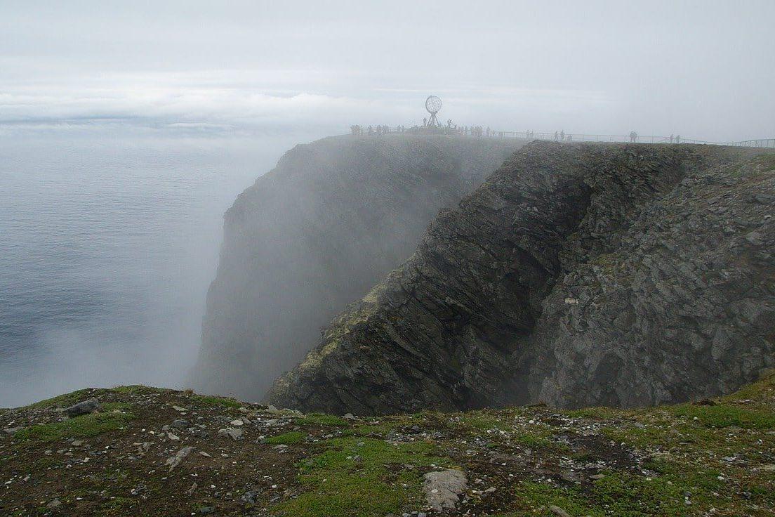 brume sur les falaises