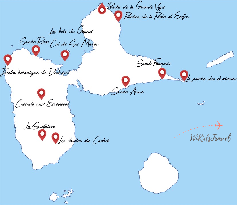 itinéraire guadeloupe 2 semaines