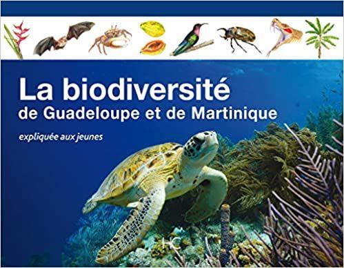 Livre La biodiversité de Guadeloupe