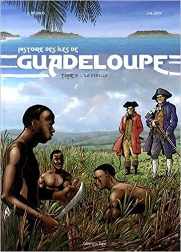 Livre Histoire de la Guadeloupe - Tome 2 L'île rebelle