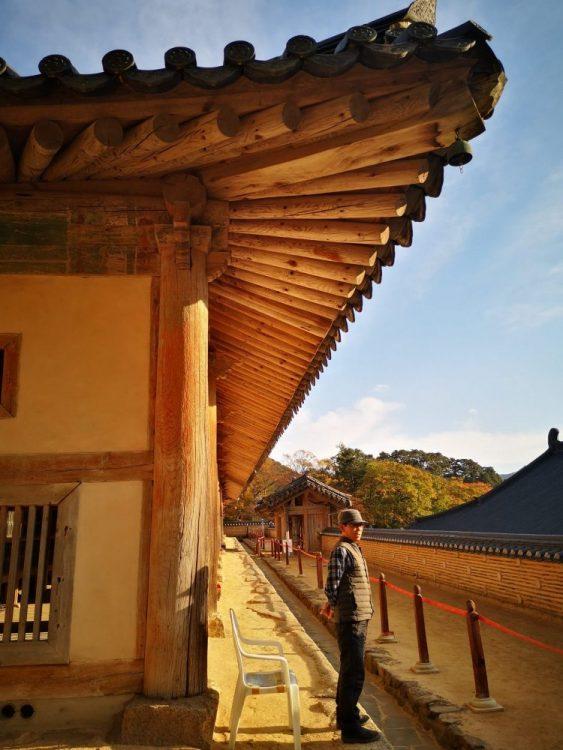 allees du temple haiensa coree du sud