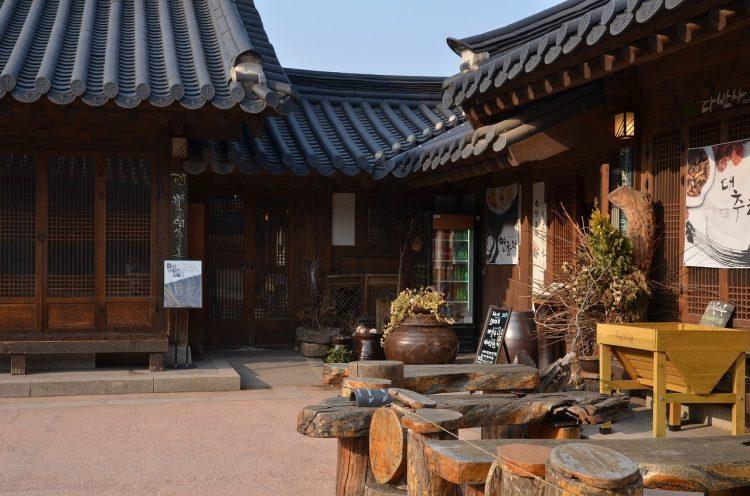 maison coréenne voyage en famille