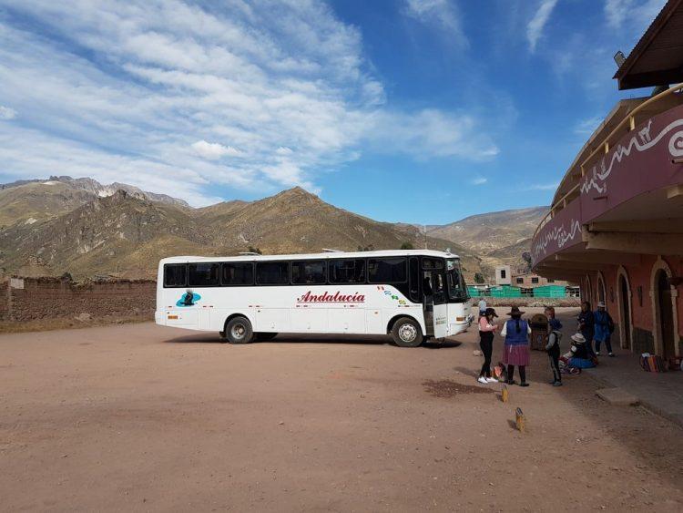 bus au pérou