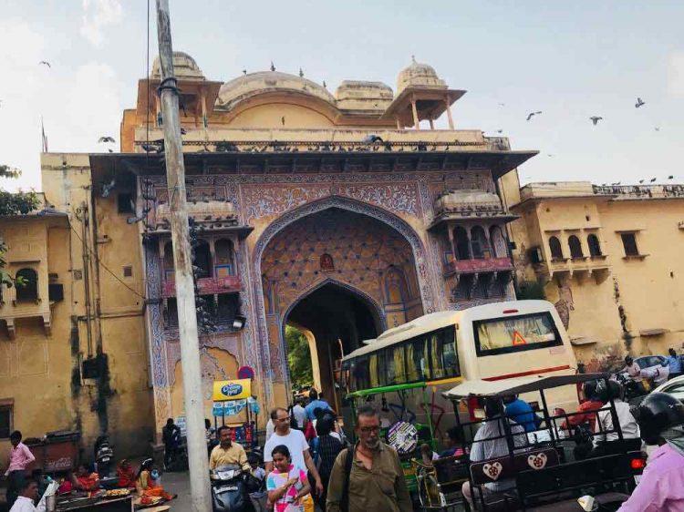 Circulation à Jaipur au Rajasthan