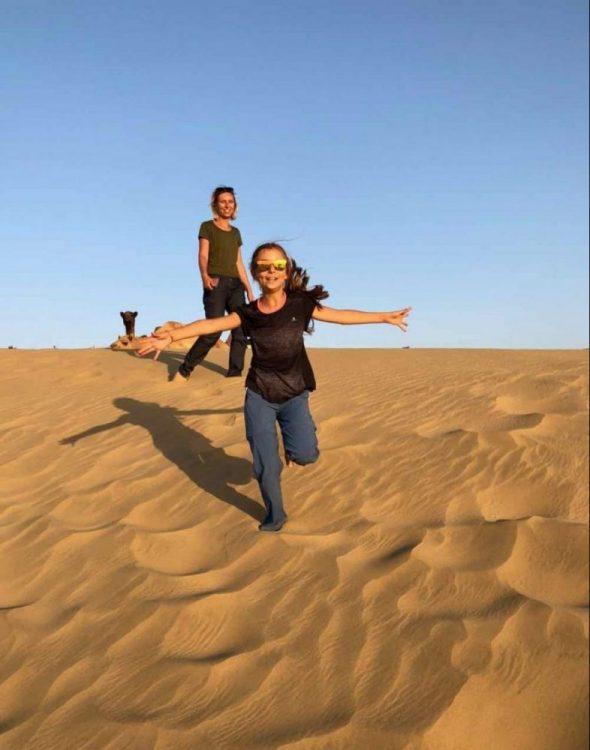dunes du désert de thar rajasthan