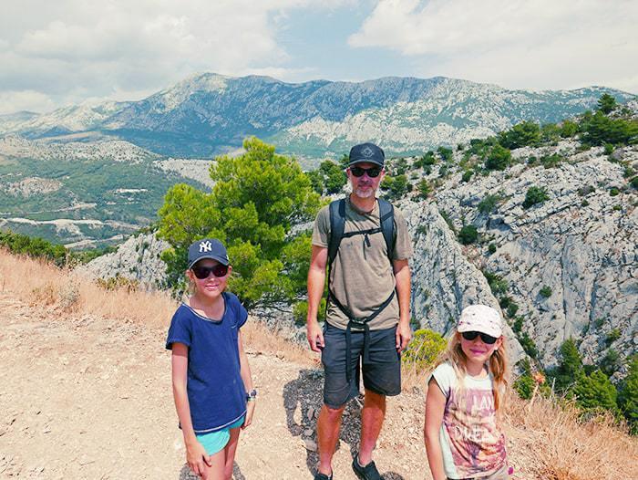 famille en voyage en croatie