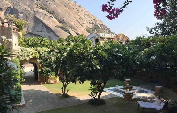 Jardin hotel Narlai voyage famille rajasthan