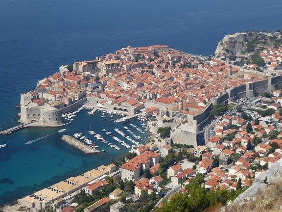 port de dubrovnik voyage famille croatie