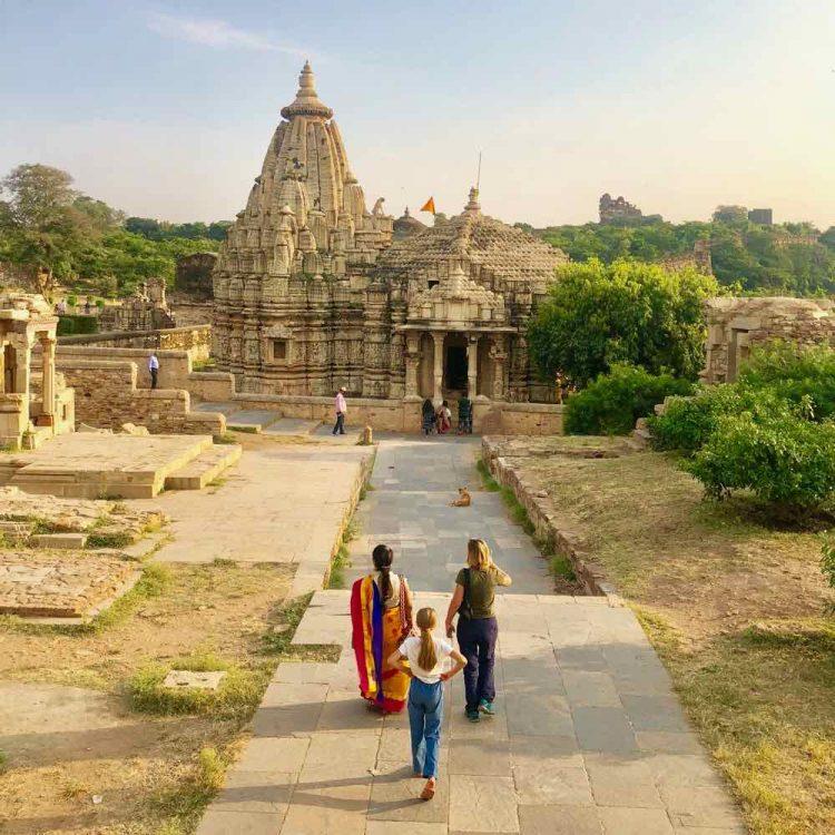 promenade au fort de chittogarh