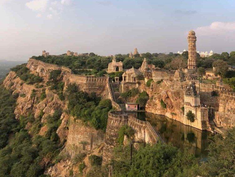 fort chittorgarh rajasthan inde famille
