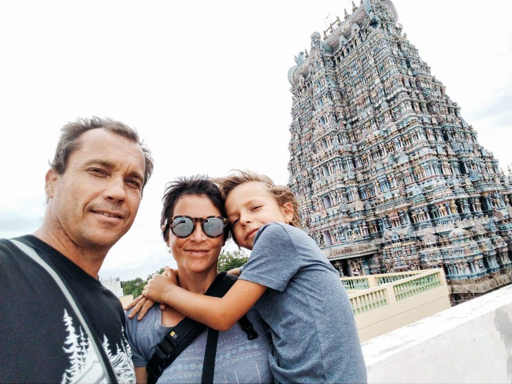temple madurai inde famille
