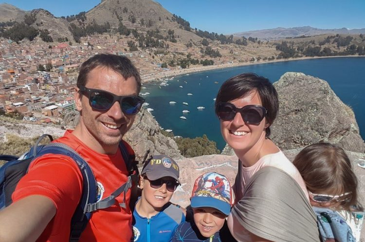 famille voyage en bolivie copacabana