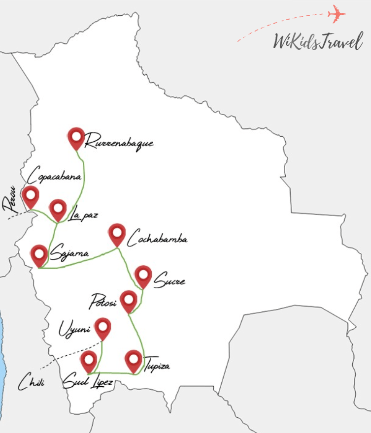 itinéraire 5 semaines en bolivie voyage en famille
