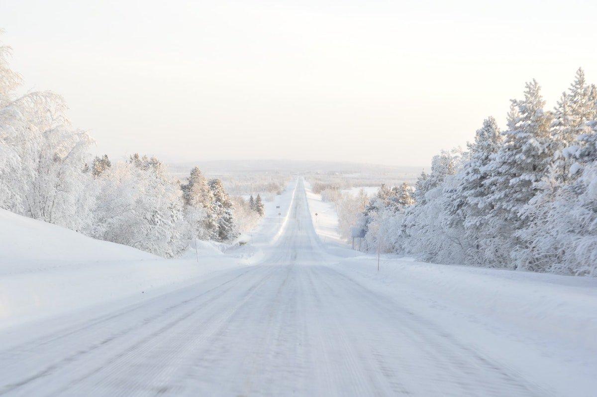 finlande en hiver road trip camping car