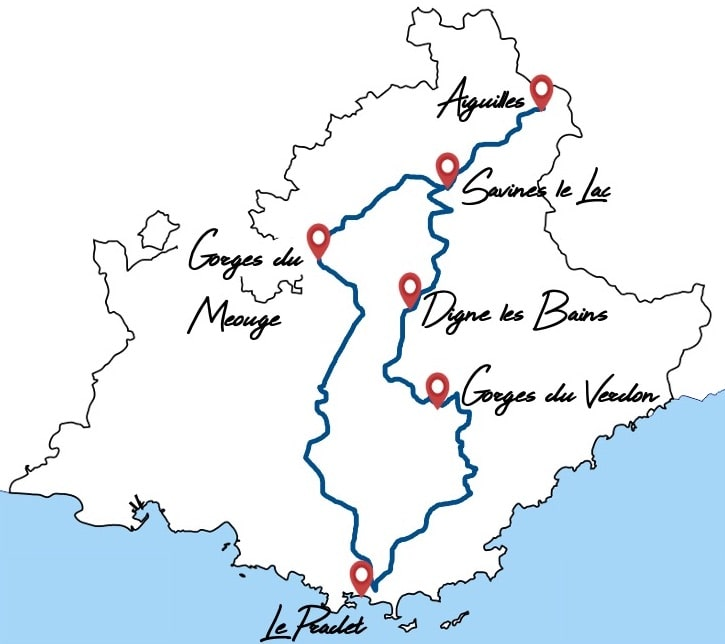 itineraire queyras van camping car