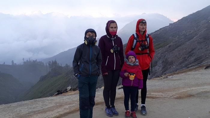 randonnée kawa ijen famille