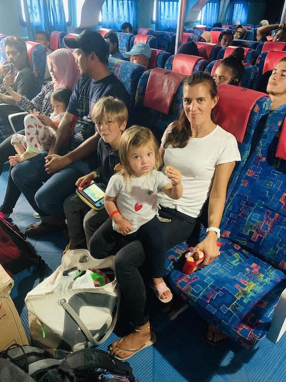 rajat ampat transport famille