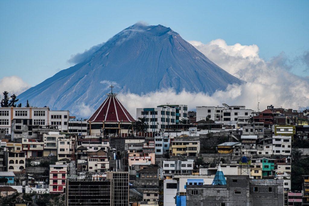 volcan tungurahua equateur