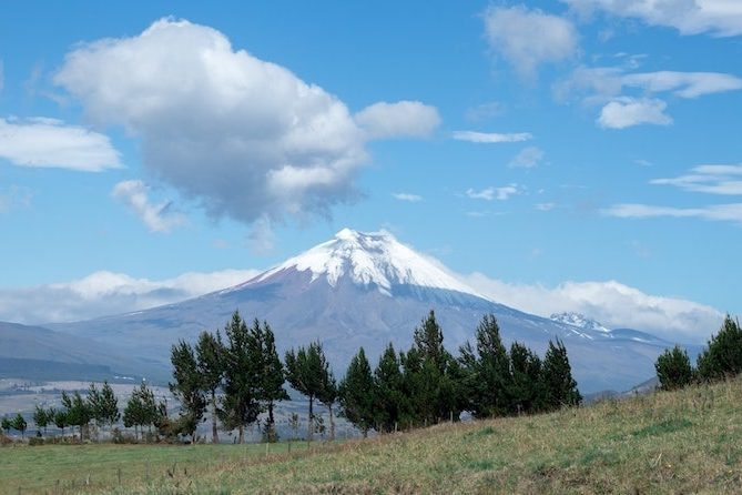 paysage volcan cotopaxi