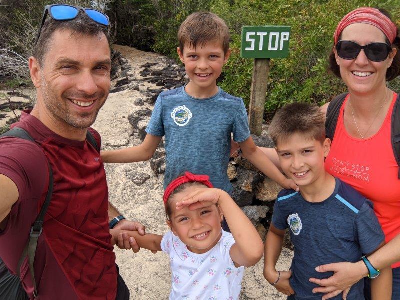 voyage galapagos en famille equateur iguanes