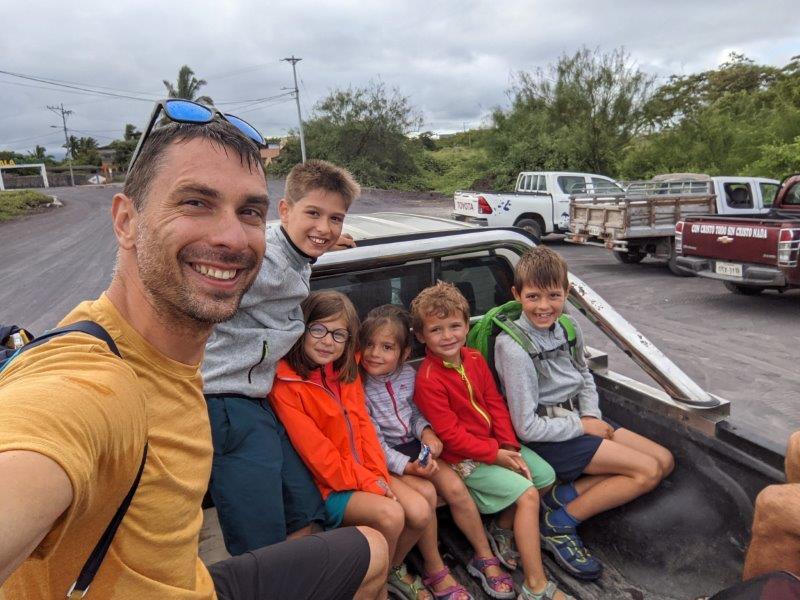 transport taxi galapagos voyage en famille isabela