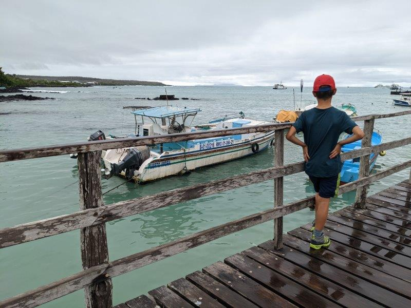 voyage galapagos famille transports bateau