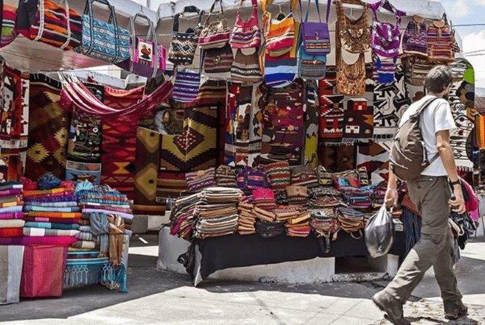 voyage en famille equateur otavalo marché