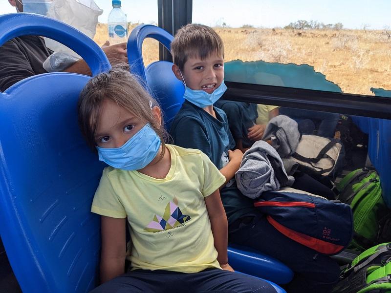 voyage galapagos famille transports bus