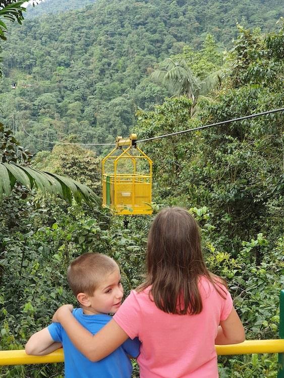 voyage equateur en famille mindo