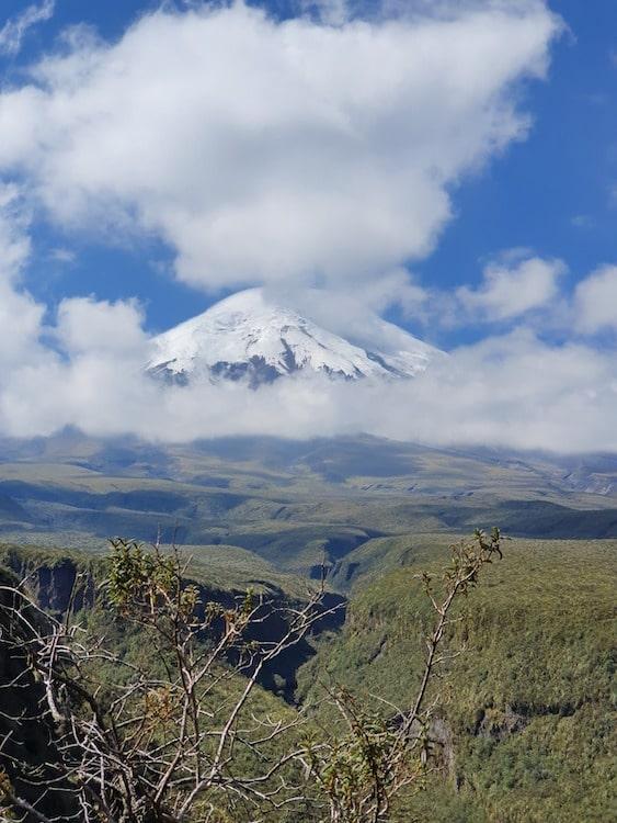 voyage equateur en famille volcan Chimborazo