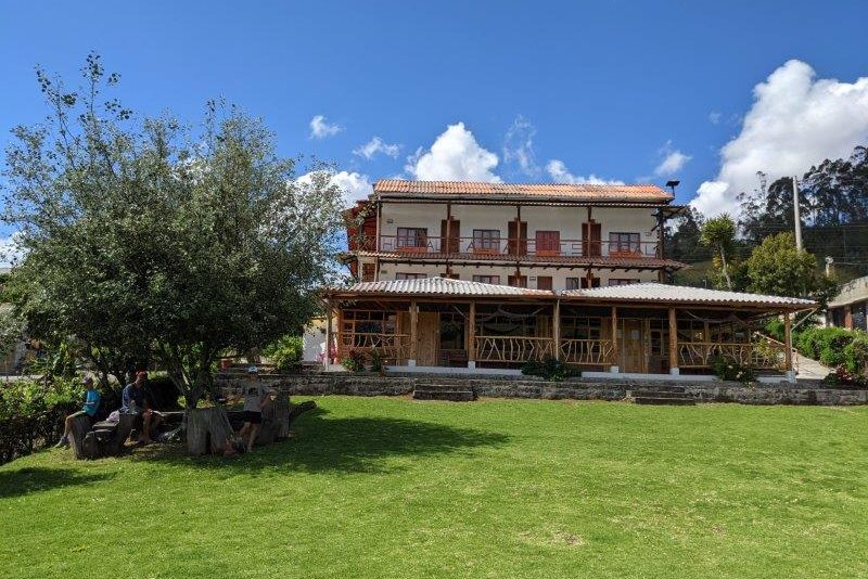 voyage en famille equateur hotel montagne